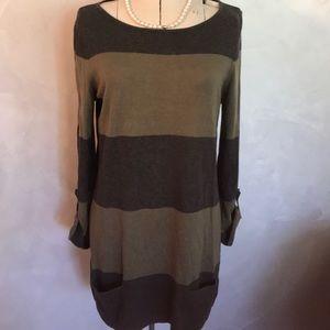 Caston Striped Sweater Dress D1-3